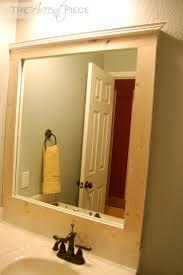 bathroom mirrors bathroom mirror trim kit home design ideas