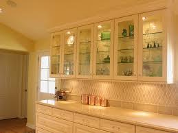 Kitchen Cabinet Glass Kitchen Cabinets Display Home Decoration Ideas