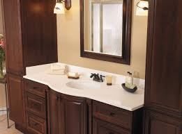 White Bathroom Vanity With Granite Top by Magnificent Granite Top Bathroom Vanity Cabinet Using White