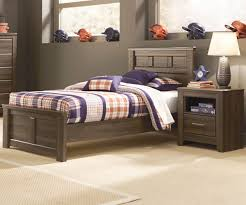 Discontinued Ashley Bedroom Furniture Juararo Twin Size Panel Bed By Ashley Furniture B251 Boys Room