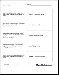 Decimal Addition Worksheets Problems Easy Math Worksheets Division Word Easy Math Worksheets