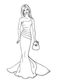barbie coloring pages inside print out coloring pages eson me