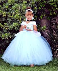 Wedding Dress Halloween Costume Cinderella Inspired Tutu Dress Princess Birthdays Naomiblu