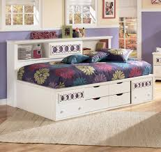 Ashley White Bedroom Furniture Signature Design By Ashley Zoey Twin Storage Daybed Rotmans