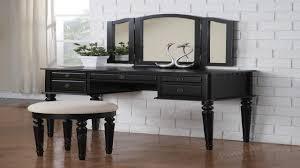 Vanity Dresser Bedroom Black Vanity Table For Elegant Bedroom Furniture Design