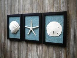 cottage chic set of beach decor wall art nautical decor
