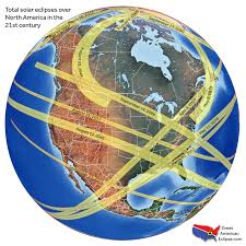 United States And Canada Map by Future Eclipses U2014 Total Solar Eclipse Of Aug 21 2017