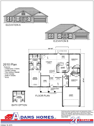 Custom Ranch Floor Plans South Branch Adams Homes