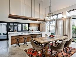open kitchen and dining room high end kitchen scheme ideas