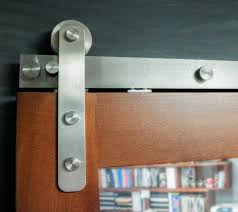 Barn Door Handle by Stainless Steel Barn Door Track Hardware Goldberg Brothers