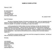 General Cover Letter For College Student