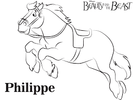 lumiere beauty and the beast free printable coloring page sheet
