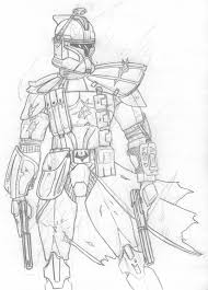 star wars coloring pages clone troopers virtren com