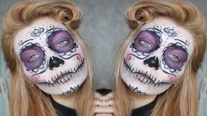 The 15 Best Sugar Skull Makeup Looks For Halloween Halloween by Sugar Skull Halloween Makeup Tutorial Youtube