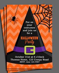 Halloween Free Printable Invitations Halloween Invitation Printable Or Printed With Free