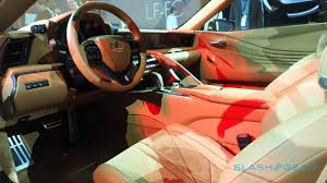 lexus concept cars living concept how lexus made the astonishing lc 500 slashgear