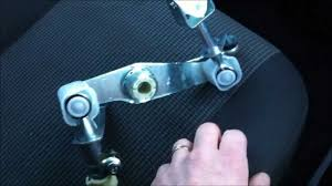 how to fix vauxhall opel gear box linkage fault repair