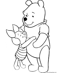 winnie the pooh u0026 friends coloring pages 2 disney coloring book