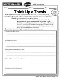 thesis question vs thesis statement FAMU Online