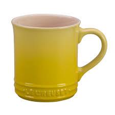 le creuset cafe collection stoneware 12 oz coffee mug j l hufford