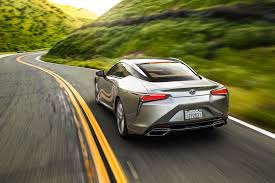 lexus sports car manual transmission 2018 lexus lc 500 and lc 500h first test review