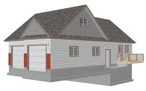 100 two car garage with apartment 100 detached garage with