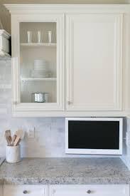 best 25 kitchen tv ideas on pinterest wood mode tv in kitchen