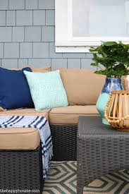 Homesense Cushions Our New Cozy Outdoor Living Room Tour Deck Reveal Part One