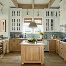 Blue Backsplash Kitchen 10 Most Popular Kitchens Coastal Living