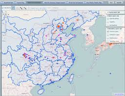 Map Of China Provinces Interactive Maps Of China Sidney D Gamble Photographs Duke