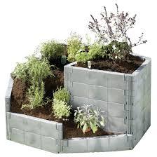 herb garden bed planting a raised bed herb garden unique gift