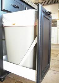 diy pull out trash cans in under an hour kitchens house and