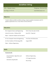 Best Resume Formats For Engineering Students by Freshers Resume Format 2016 Best Professional Resume Templates