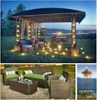 Cozy Gazebo Canopy Design Ideas Back Yard Gazebo With Grilling ...