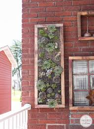 Outdoor Wall Planters by She Survived A Wall Planter Story Inspired By Charm