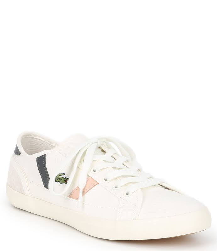 Lacoste Sideline 419 1 Sneakers Off White- Womens