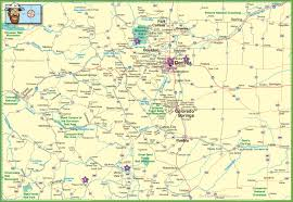 Large Map Of Usa by Large Detailed Map Of Colorado With Cities And Roads