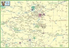 Map Of Utah And Colorado by Colorado State Maps Usa Maps Of Colorado Co