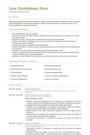 Secondary School Teacher Resume Example     Teacher Resignation Letter The Resumes You Can Click Use This Which  Will Either Be In The
