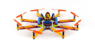 build and crash your own wacky lego drones with flybrix