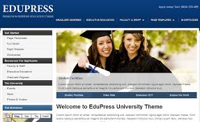 EduPress or WordPress  a simple but search engine friendly theme for colleges and schools  It has   custom widgets and multiple page templates