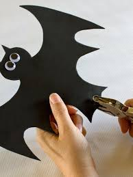 halloween bat decorations craft for kids hgtv