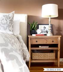 Wood Shelf Plans Free by Diy Bedside Table With Drawer And Shelf Free Plans