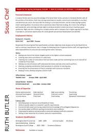 Pastry Chef Resume Examples by Chef Resume Sample Examples Sous Chef Jobs Free Template