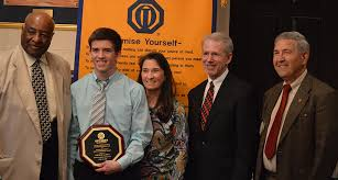Good Government Award   Alexandria Sunrise Chapter Andrew Janis  pictured above