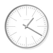 max bill wall clock moma design store