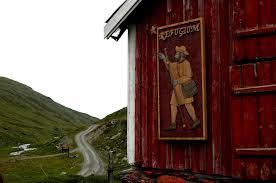 Ryphusan pilegrimsherberge nær pilegrimsveiens høyeste punkt på Dovrefjell