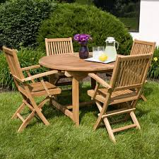 Teak Dining Room Table And Chairs by Teak Outdoor Expandable Round Table Set Outdoor