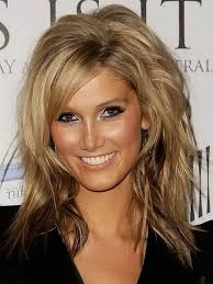 blonde layered haircuts popular long hairstyle idea