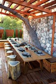 dining room awesome outdoor dining table decoration ideas with
